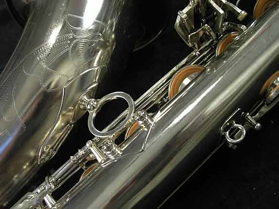 Selmer Nickel Plate Mark VII Tenor - 313016 - Photo # 17