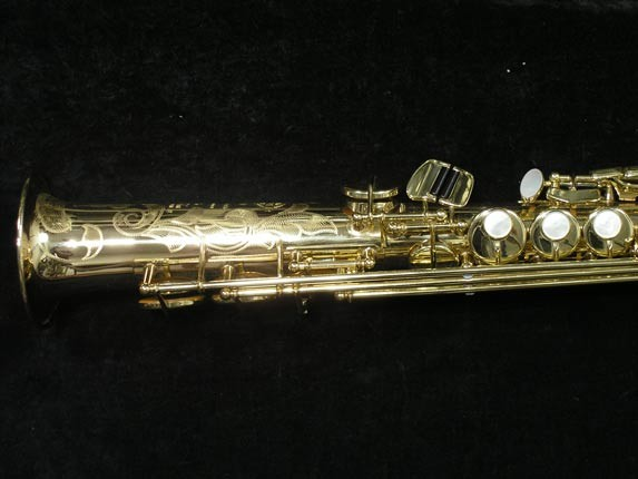 Selmer Lacquer Super Action 80 serie II Soprano - 441243 - Photo # 2