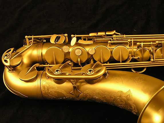 Selmer Custom Engraved Reference 54 Tenor - 640093 - Photo # 3