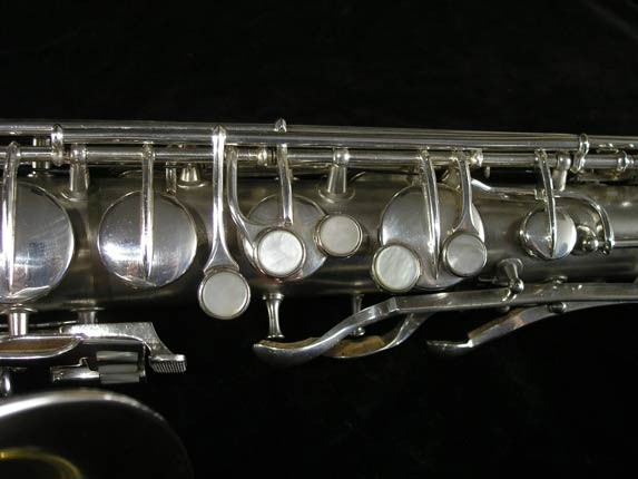 Conn Silver Plate Chu Berry Tenor - 156032 - Photo # 7