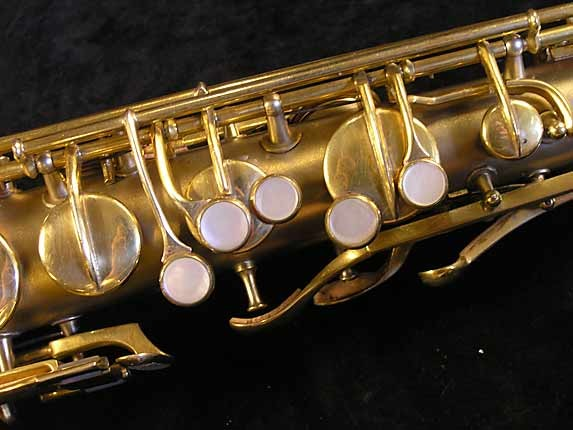 "Conn ""New Wonder"" Matte Gold Plate Tenor - 119420 - Photo # 7"