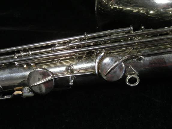 Conn Nickel Plate Transitional Tenor - 247467 - Photo # 16