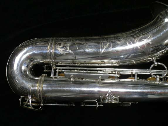 Selmer Silver Super Balanced Action Tenor - 50980 - Photo # 5