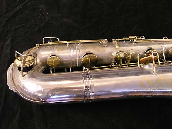 "Conn ""New Wonder"" Matte Silver Plate Bass - 72607 - Photo # 3"