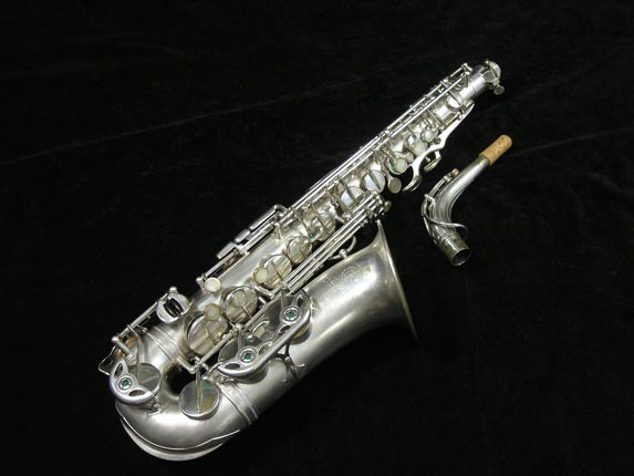 Selmer Matte Silver Plate Balanced Action Alto - 26987 - Photo # 1