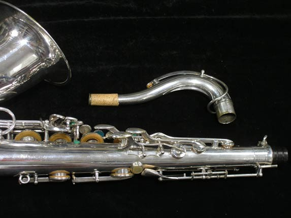 Selmer Silver Super Balanced Action Tenor - 50980 - Photo # 6