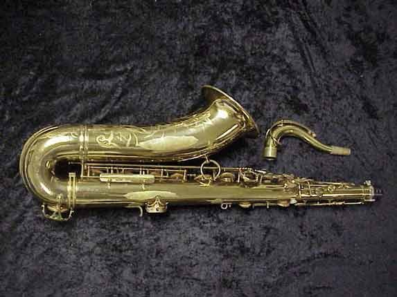 elmer Lacquer Super Balanced Action Tenor - 52084 - Photo # 4