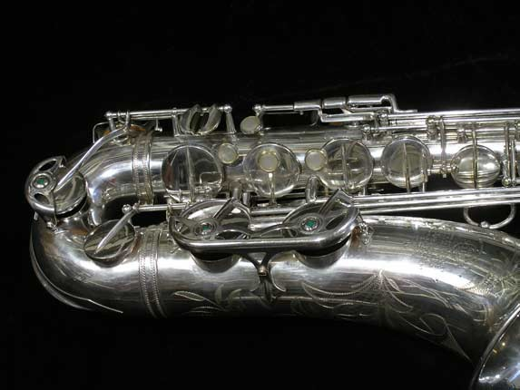 Selmer Silver Plate Mark VI Tenor - 63779 - Photo # 2