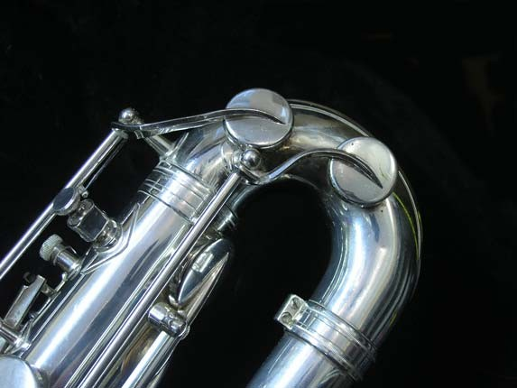 "Selmer Silver Plate Mark VI ""Low A"" Baritone - 177100 - Photo # 7"