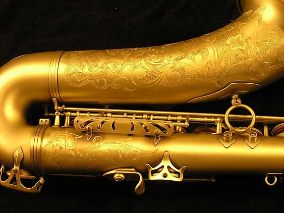 Selmer Custom Engraved Reference 54 Tenor - 640093 - Photo # 5