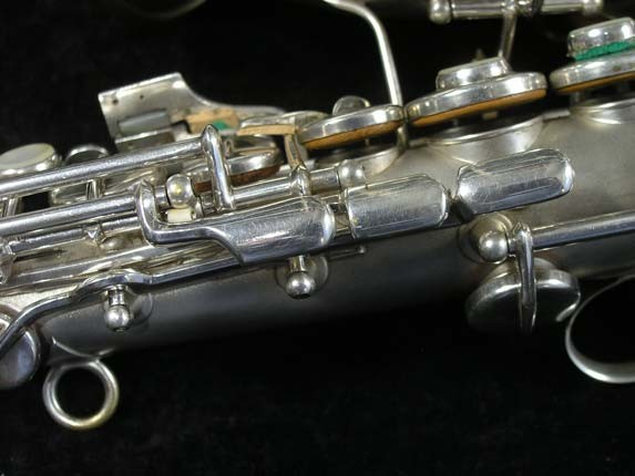 Conn Silver Plate Chu Berry Curved Soprano - 206855 - Photo # 7