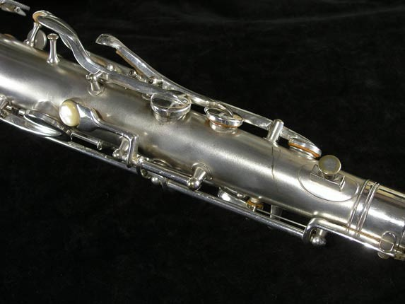 Conn Silver Plate Chu Berry Tenor - 156032 - Photo # 9