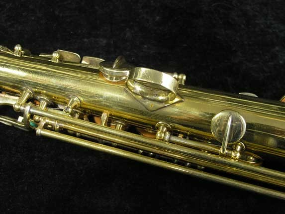 "Conn ""New Wonder"" Gold Plate Soprano - 139580 - Photo # 12"