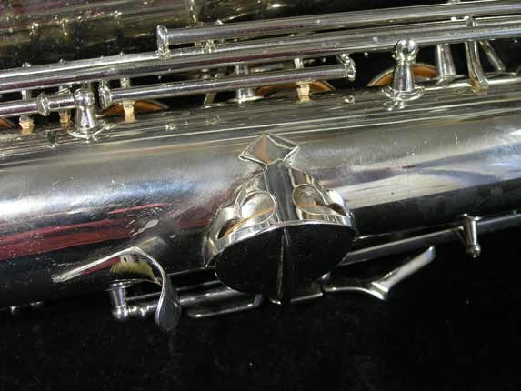 Conn Nickel Plate Transitional Tenor - 247467 - Photo # 18