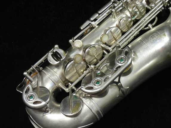 Selmer Matte Silver Plate Balanced Action Alto - 26987 - Photo # 2