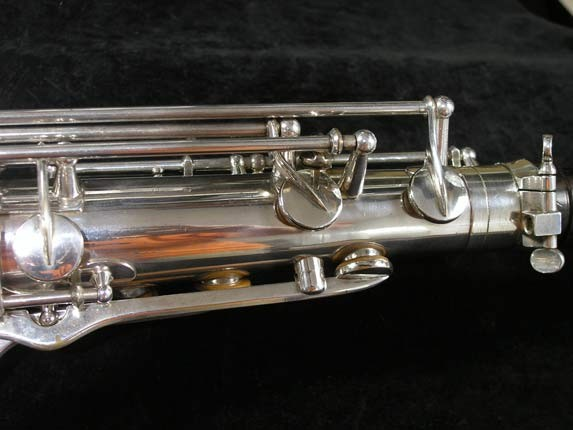 Selmer Silver Super Balanced Action Tenor - 50980 - Photo # 7