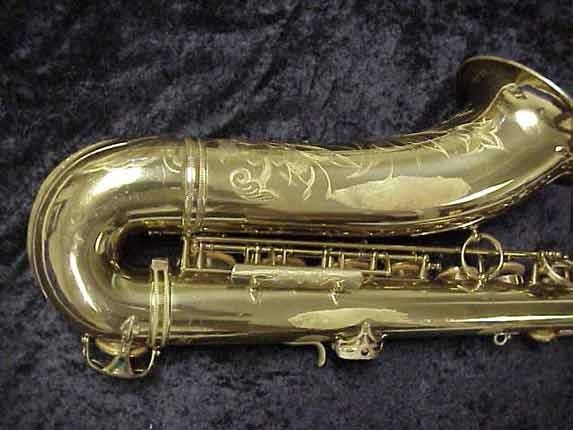 elmer Lacquer Super Balanced Action Tenor - 52084 - Photo # 5
