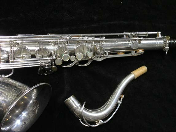 Selmer Silver Plate Mark VI Tenor - 63779 - Photo # 3