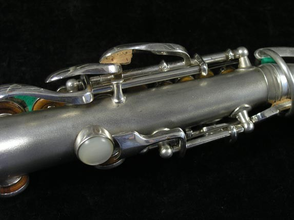 Conn Silver Plate Chu Berry Curved Soprano - 206855 - Photo # 8