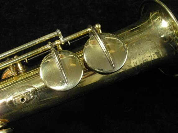 "Conn ""New Wonder"" Gold Plate Soprano - 139580 - Photo # 13"