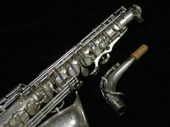 Selmer Matte Silver Plate Balanced Action Alto - 26987 - Photo # 3