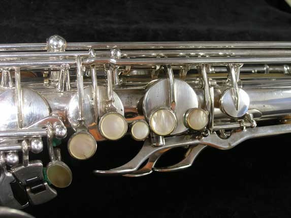 Selmer Silver Super Balanced Action Tenor - 50980 - Photo # 8