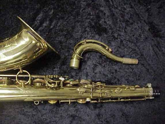 elmer Lacquer Super Balanced Action Tenor - 52084 - Photo # 6