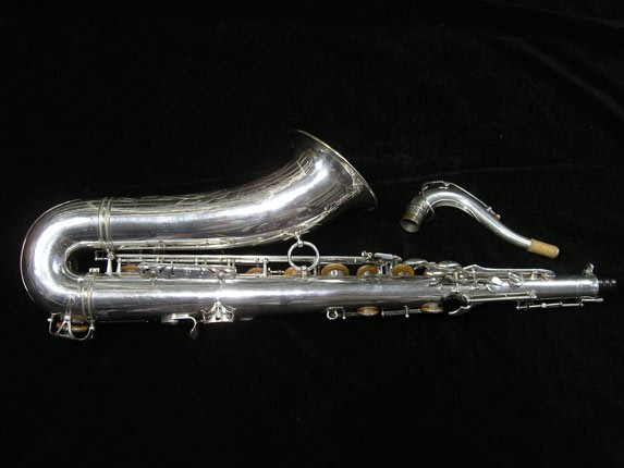 Selmer Silver Plate Mark VI Tenor - 63779 - Photo # 4
