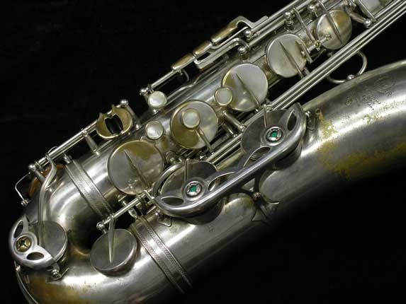 Selmer Silver Plate Mark VI Tenor - 102079 - Photo # 2