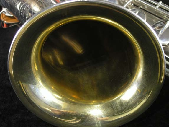 Conn Silver Plate Chu Berry Tenor - 156032 - Photo # 11