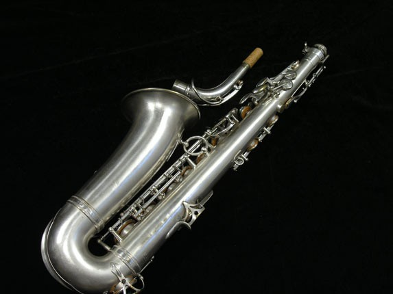Selmer Matte Silver Plate Balanced Action Alto - 26987 - Photo # 4