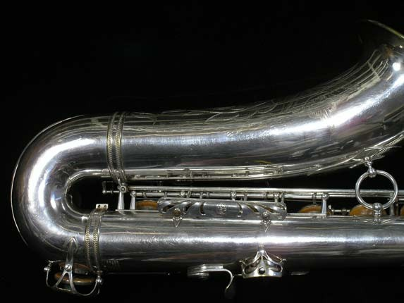 Selmer Silver Plate Mark VI Tenor - 63779 - Photo # 5