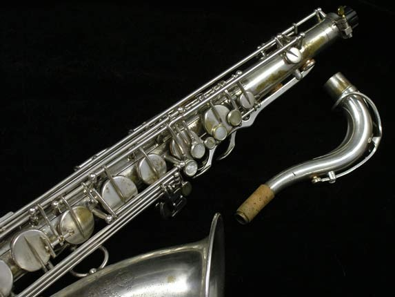Selmer Silver Plate Mark VI Tenor - 102079 - Photo # 3