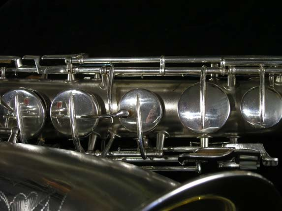 Conn Silver Plate Chu Berry Tenor - 156032 - Photo # 12