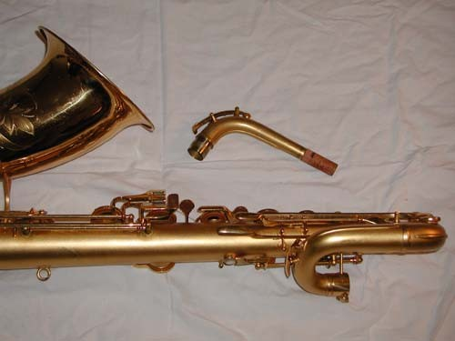 "Conn Gold Plate Chu Berry ""Mulligan Vintage"" Baritone - 208228 - Photo # 6"