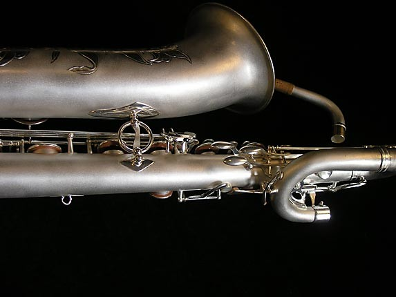 Selmer Matte Silver Super Balanced Action Bari Sax - 52454 - Photo # 6