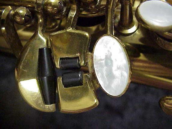 elmer Lacquer Super Balanced Action Tenor - 52084 - Photo # 8