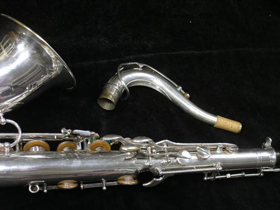 Selmer Silver Plate Mark VI Tenor - 63779 - Photo # 6