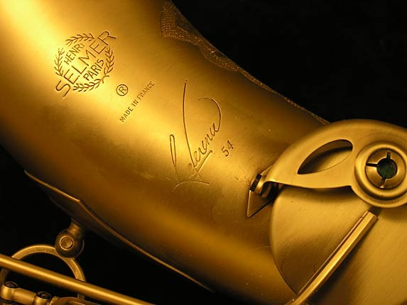 Selmer Custom Engraved Reference 54 Tenor - 640093 - Photo # 9