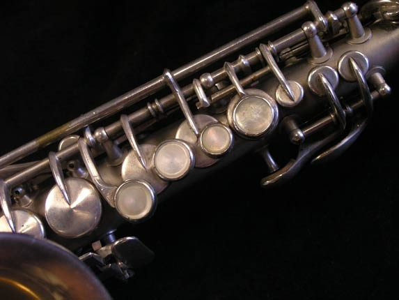 King Silver H.N. White Model Curved Soprano - 52664 - Photo # 4