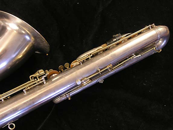 "Conn ""New Wonder"" Matte Silver Plate Bass - 72607 - Photo # 8"