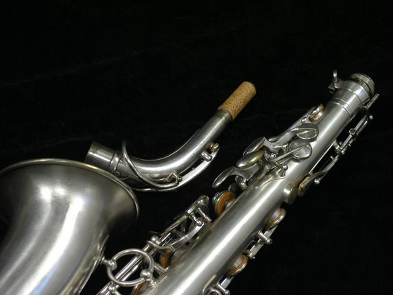 Selmer Matte Silver Plate Balanced Action Alto - 26987 - Photo # 6