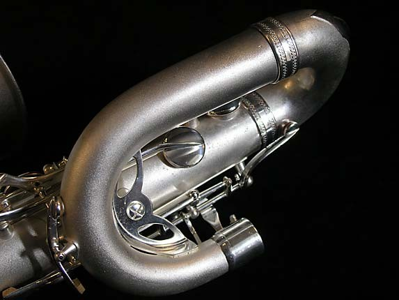 Selmer Matte Silver Super Balanced Action Bari Sax - 52454 - Photo # 7