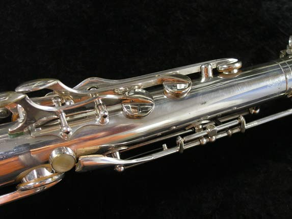 Selmer Silver Super Balanced Action Tenor - 50980 - Photo # 11