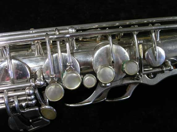 Selmer Silver Plate Mark VI Tenor - 63779 - Photo # 7