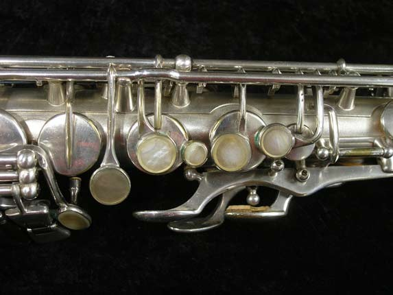 Selmer Matte Silver Plate Balanced Action Alto - 26987 - Photo # 7