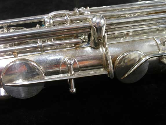 Selmer Silver Super Balanced Action Tenor - 50980 - Photo # 12