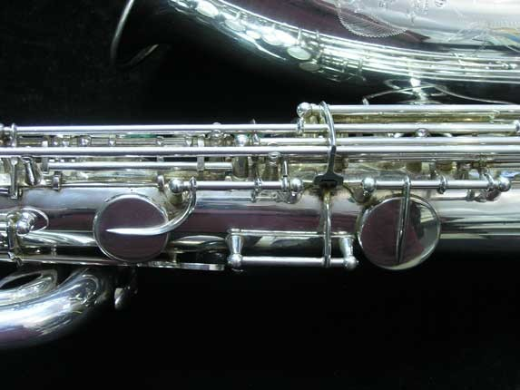 "Selmer Silver Plate Mark VI ""Low A"" Baritone - 177100 - Photo # 13"