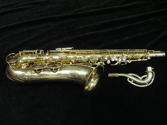 King Gold Plate Zephyr Tenor - 281276 - Photo # 1