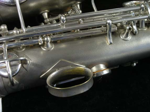 Conn Silver Plate Chu Berry Curved Soprano - 206855 - Photo # 13